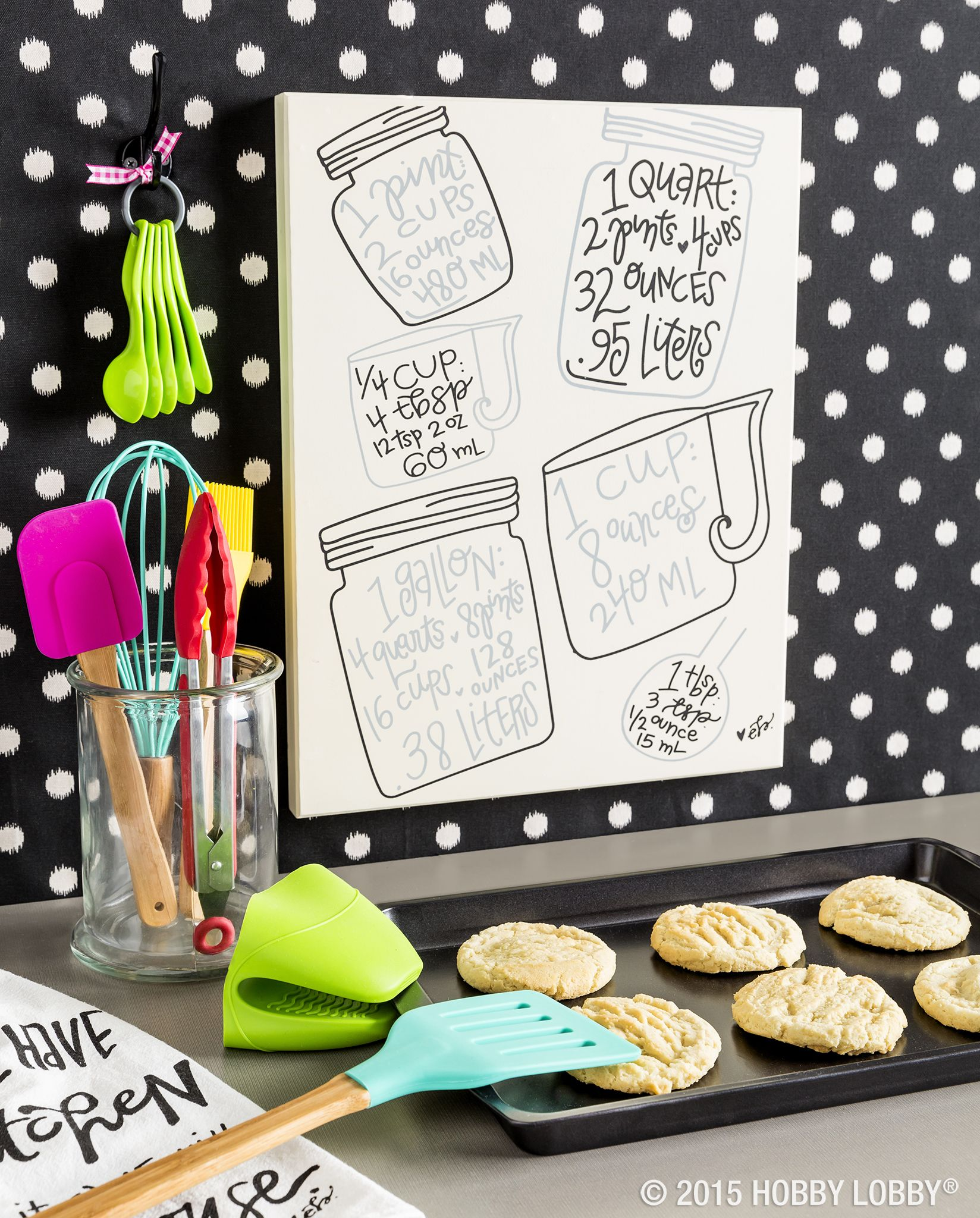 What's more fabulous than colorful kitchen accessories? All the mouth-watering treats you're going to make with them!