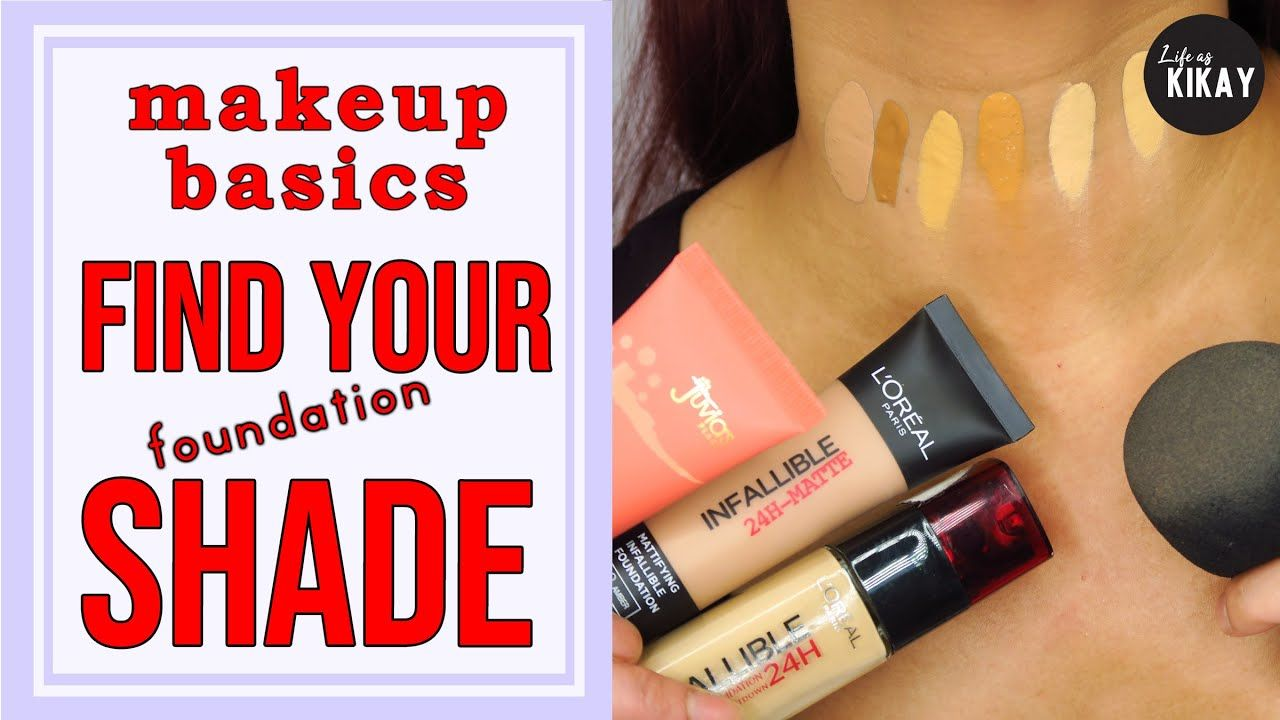 How To Choose the Right Foundation Shade for Beginners