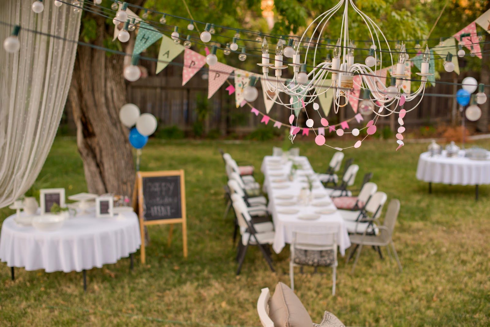 How to Organize a Memorable Outdoor Birthday Party
