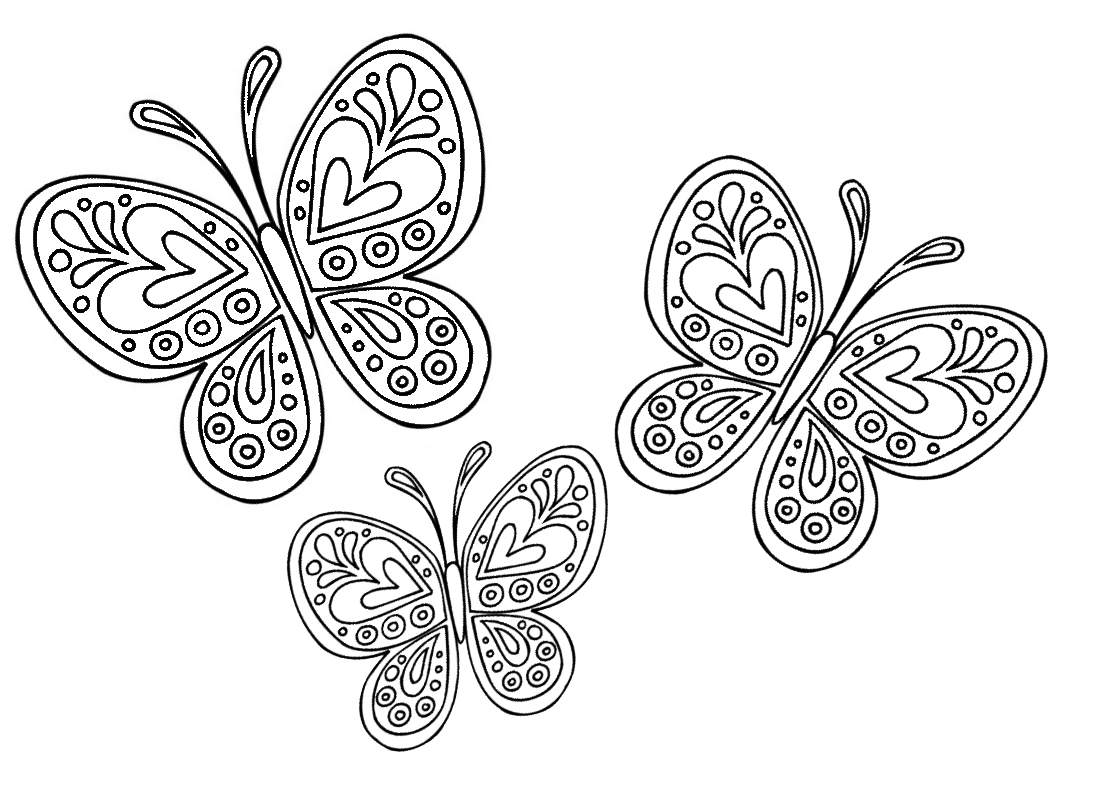 Disegni Per Bambini Farfalle Colorare Disegni Drawing Butterfly Animalidacolorare Tatuaggi Fiore Di Loto Tatuaggio Di Fiore Disegni Da Colorare