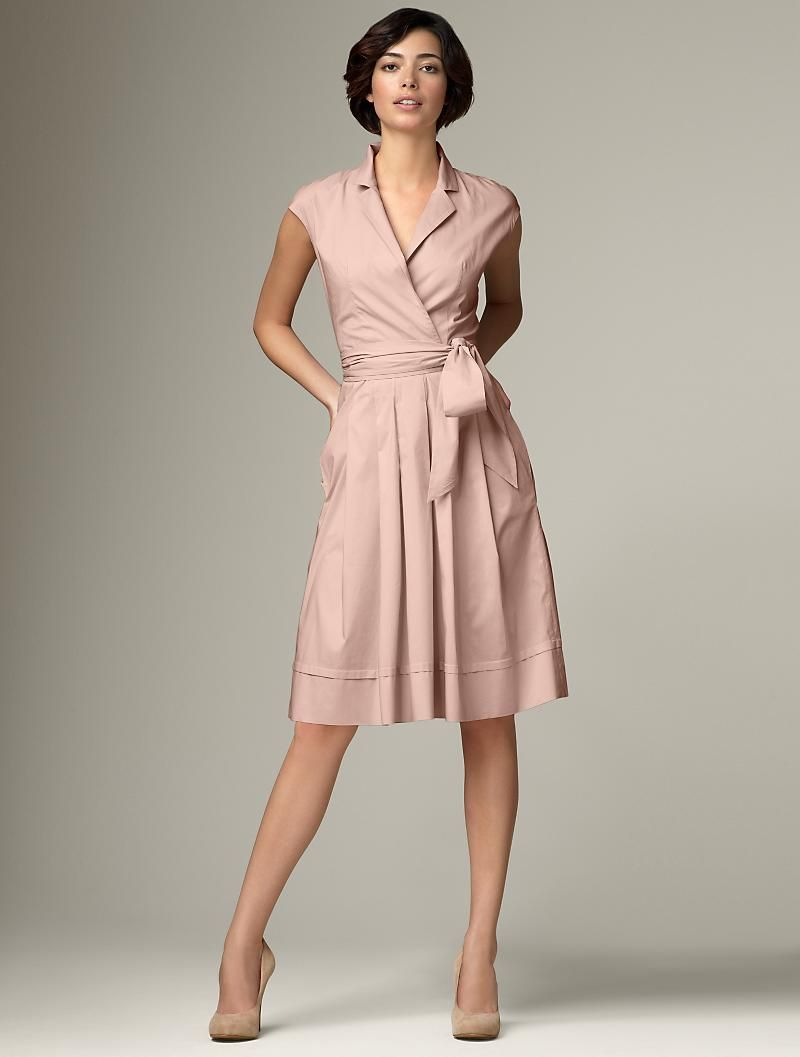 This would be terrible on me. Wrap dresses focus on the waist, and ...