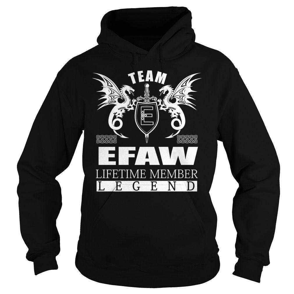 Team EFAW Lifetime Member - Last Name, Surname TShirts