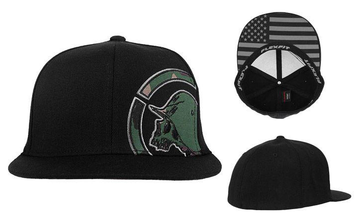 Metal Mulisha Guarded Flexfit Hat Metal Mulisha Hats Mma Clothing