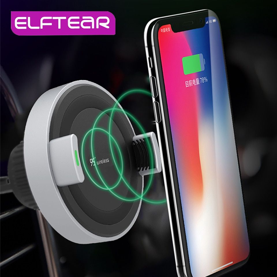 ELFTEAR 10W Qi Wireless Charger For IPhone X/XS Max XR 8 8