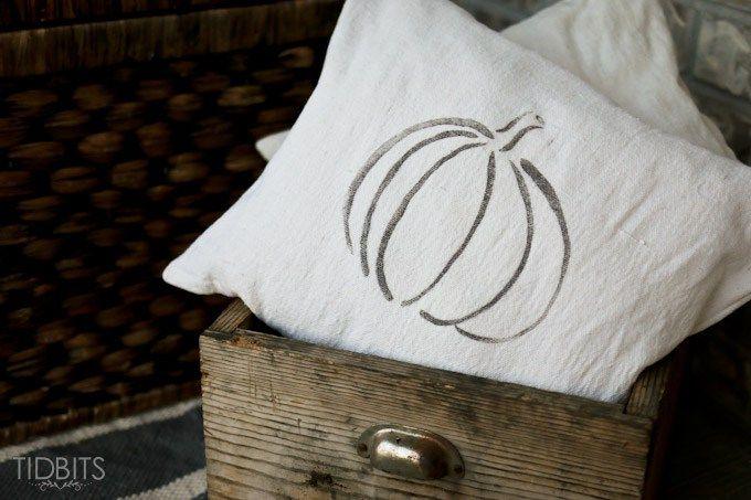 Re-Purposed Sweater Pillows - Tidbits