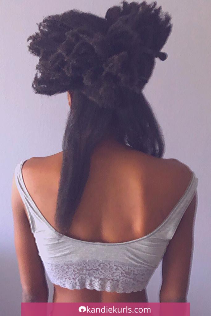 My Natural Hair Journey: Growing 4C Hair - KandieKurls