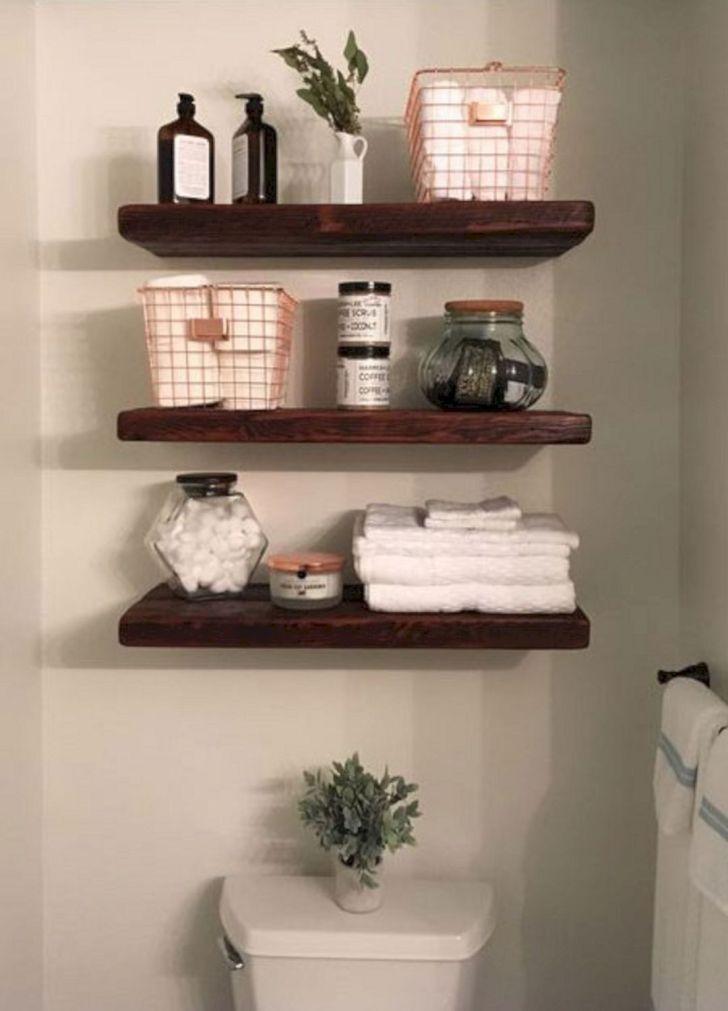 10 unique diy bathroom shelf design ideas you must try in