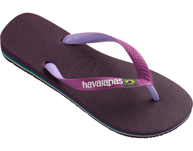<p>A Havaianas icon, the Brasil Mix features a flag embellishment, a bi-color matte strap with a contrast logo and a multicolor sole for style. Comfort comes courtesy of our signature textured footbed.</p><ul>  <li>Thong style</li>  <li>Cushioned footbed with textured rice pattern and rubber flip flop sole</li>  <li>Made in Brazil</li></ul>