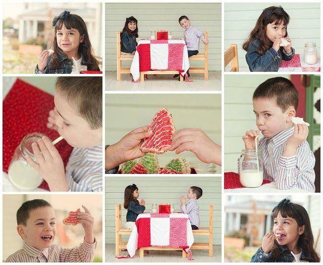 Carrie Saindon Photography - Christmas Cookies and Milk