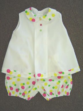 What a sweet outfit! Jackson pattern by Children's Corner