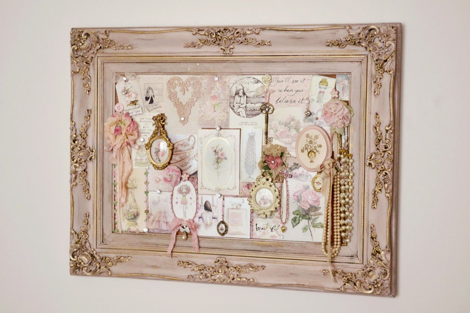 vintage shabby chic inspired office. Jennelise: My Girly Office · Vintage Shabby ChicShabby Chic Inspired