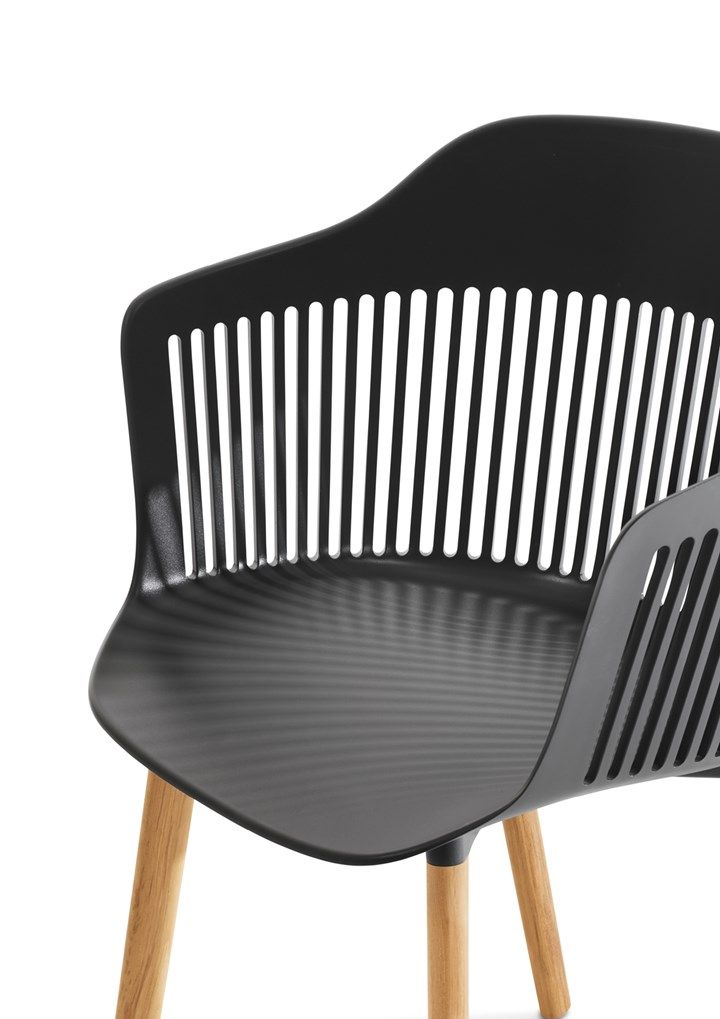 GamFratesi for Dedon Aiir, a new shell chair inspired by