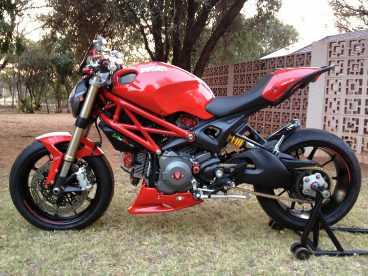 Storage On Ducati Monster