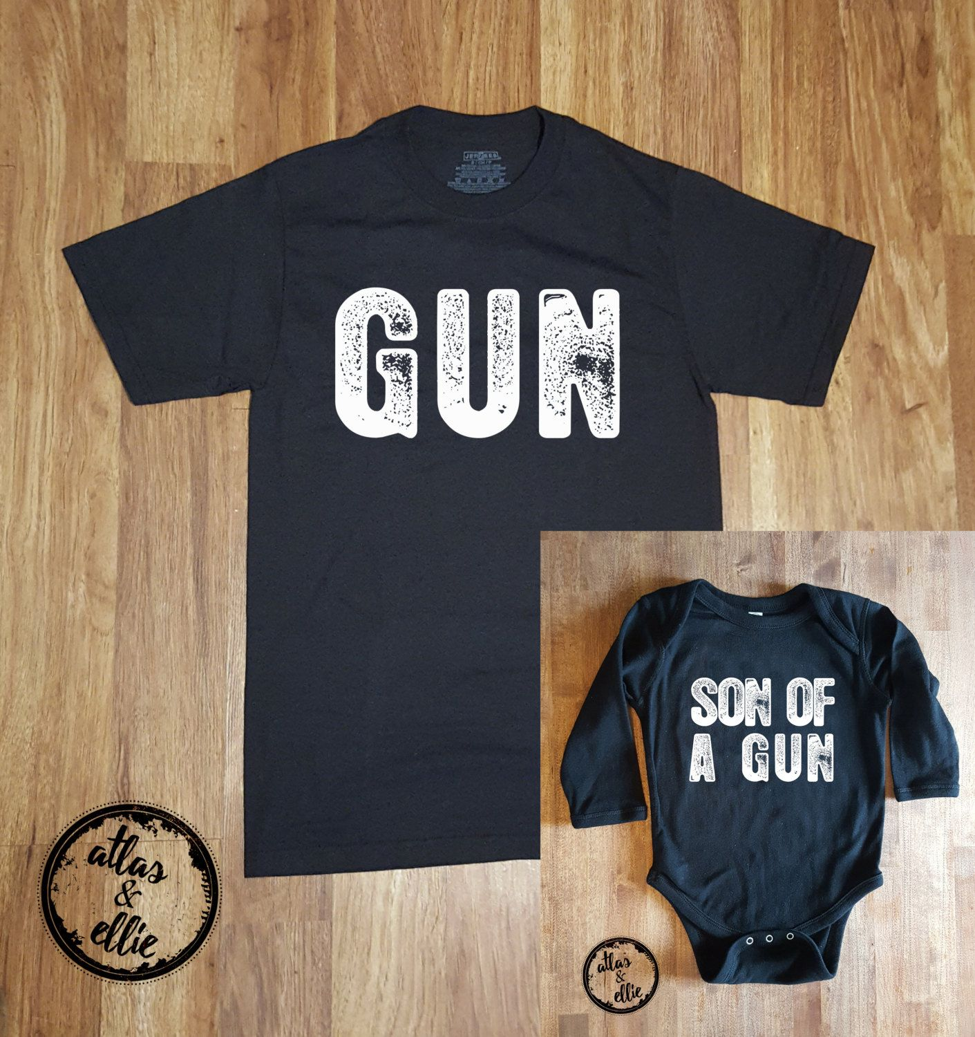 Gifts From Son To Dad Part - 45: Dad And Son, Dad And Baby Matching Shirts, Fatheru0027s Day Gift, Gift For