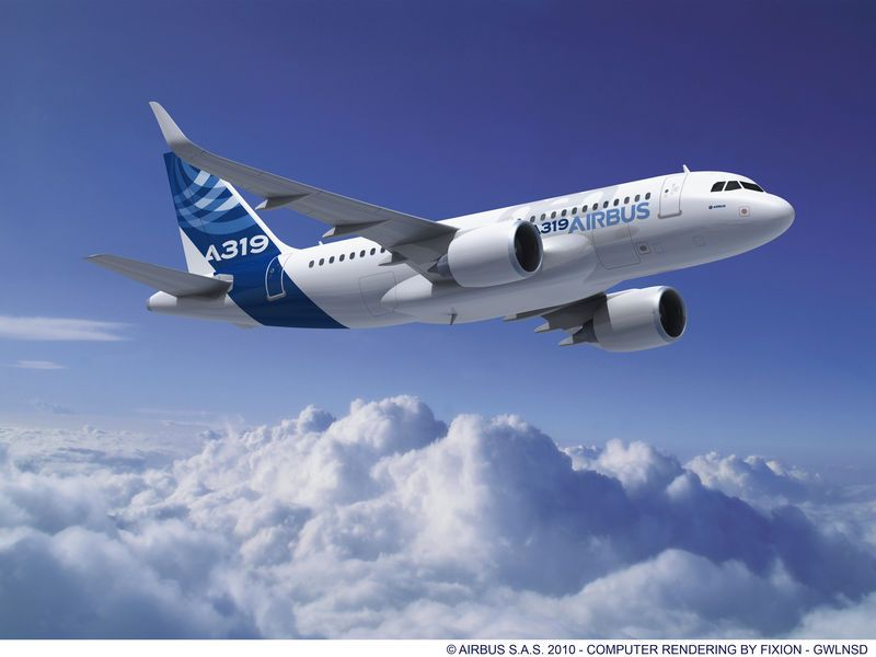 As A Slightly Smaller Version Of Airbus A320 Cornerstone Single