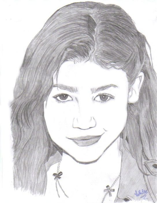 Image about drawings in Zendaya by Maeve on We Heart It |Zendaya Coloring Pages