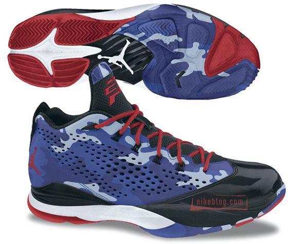 Jordan Cp3vii Blue Camo Sneakernewscom Kicks Jordans