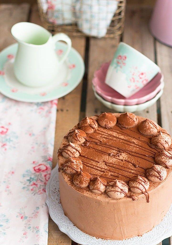 Tarta De Nutella Y Chocolate La Mejor Tarta Del Mundo Torta De Vainilla Tartas Tartas Caseras
