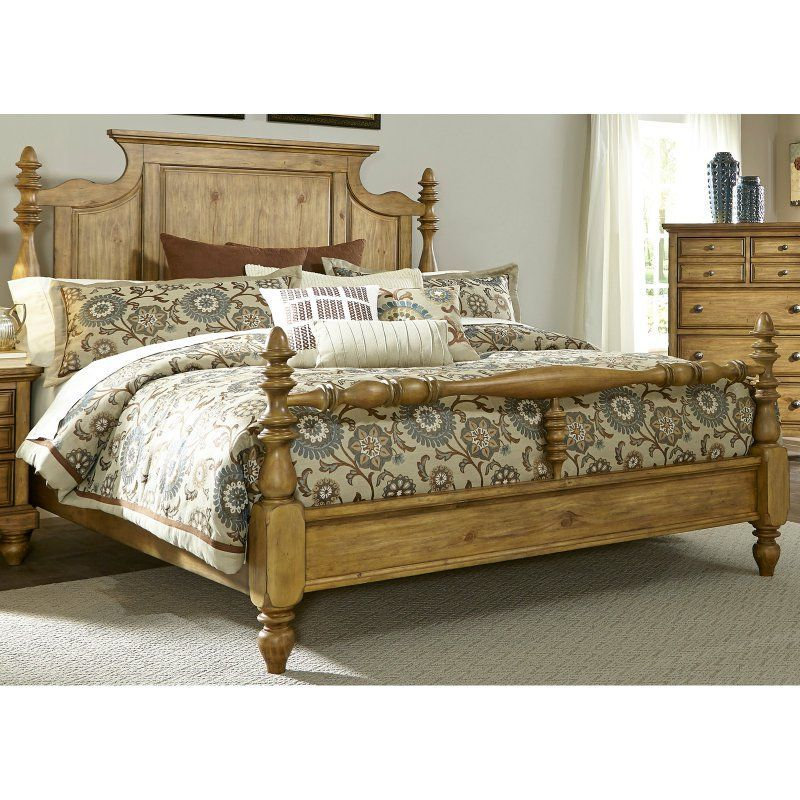 Liberty Furniture High Country Poster Bed Liberty