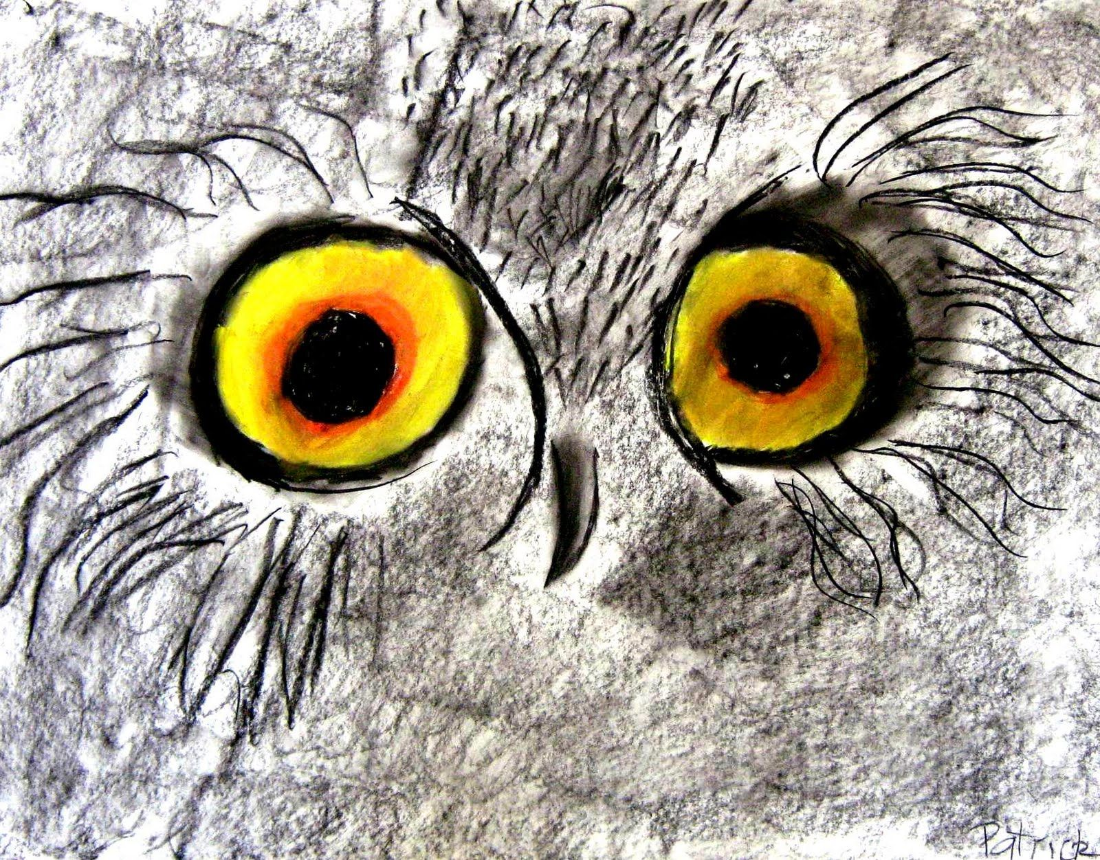 Aceo - owl eye by Lisandro Peña Onlypencil.com | Eyes | Pinterest