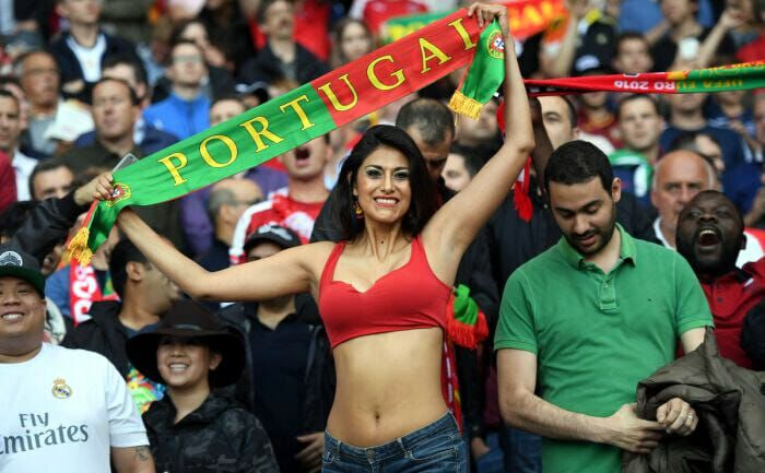 Very grateful World cup fans hot girls