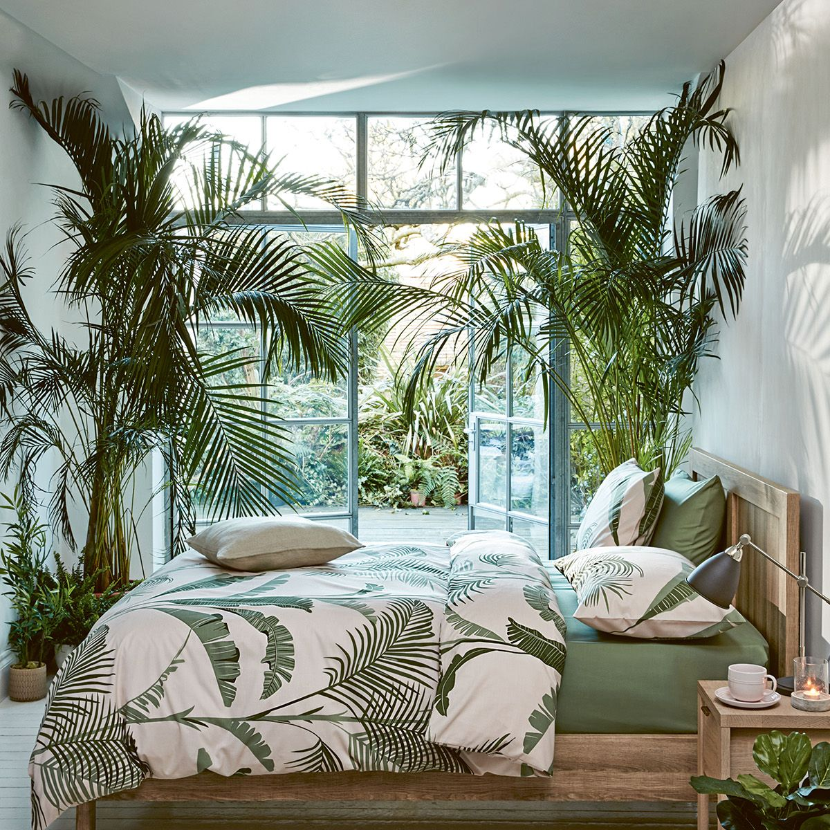 trend report: soft tropics | guest bedroom design, bedroom