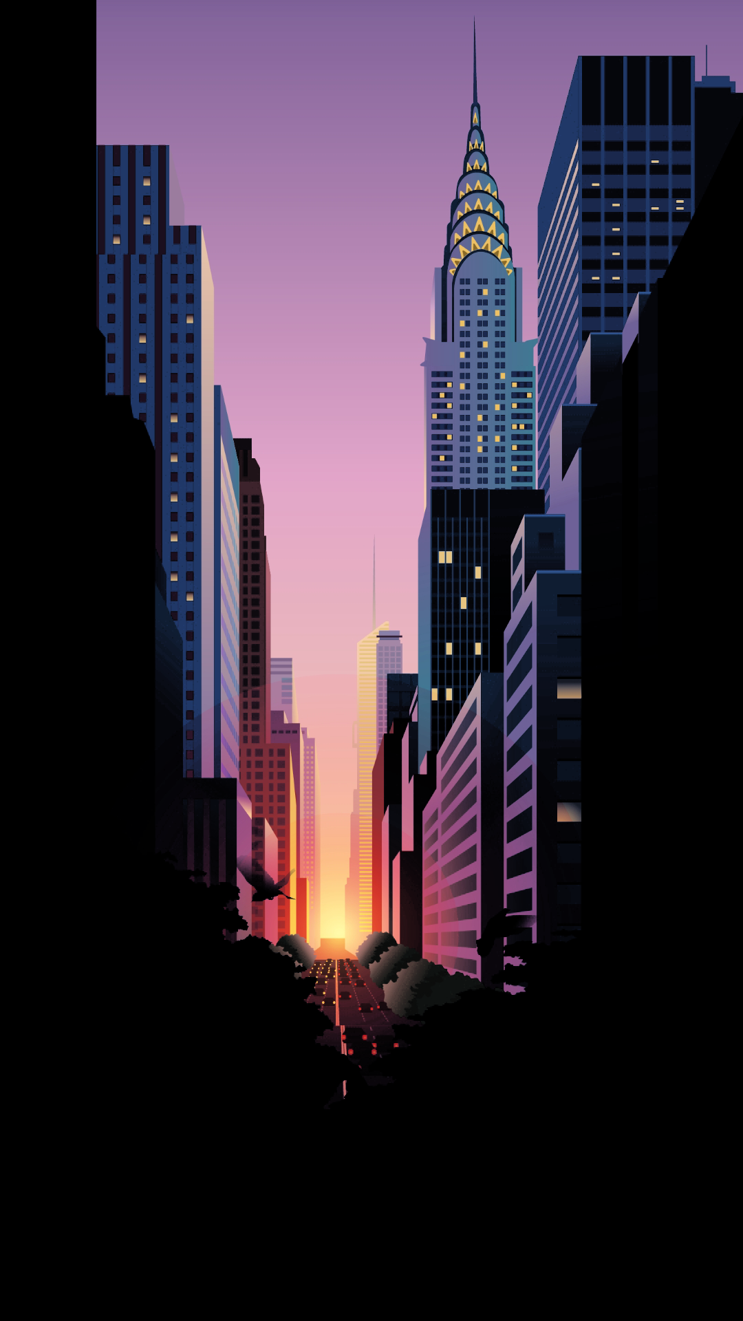 Cityscape City Metropolitan Area Skyscraper Metropolis Skyline Iphone Wallpaper New York Iphone Wallpaper Scenery Wallpaper Graphic Wallpaper
