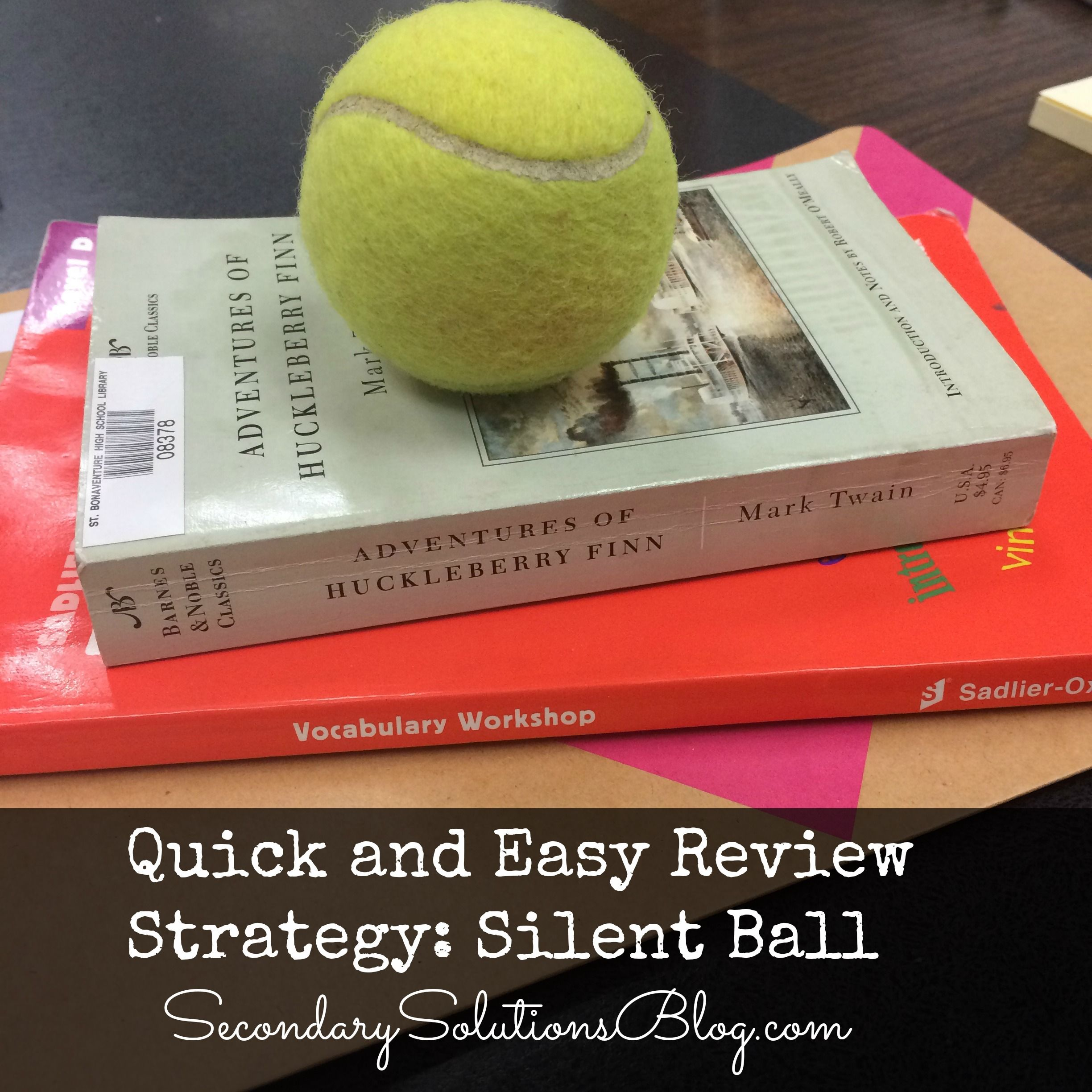 Silent Ball An Easy, Fun Review Game for Students