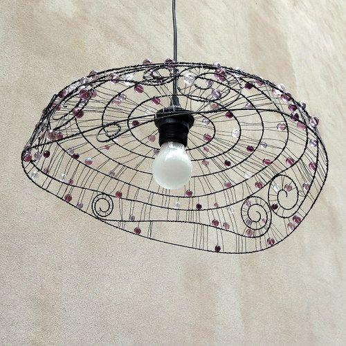 do spir ly dr tovan lustr fil fer wire pinterest wire chandelier wire art et wire crafts. Black Bedroom Furniture Sets. Home Design Ideas