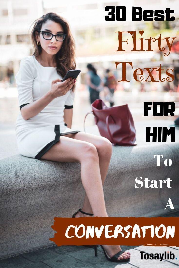 30 best flirty texts for him to start a conversation