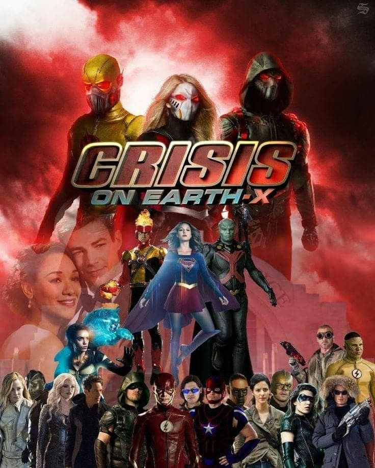 Supergirl The Flash Arrow Dc Legends Of Tomorrow Supergirl And