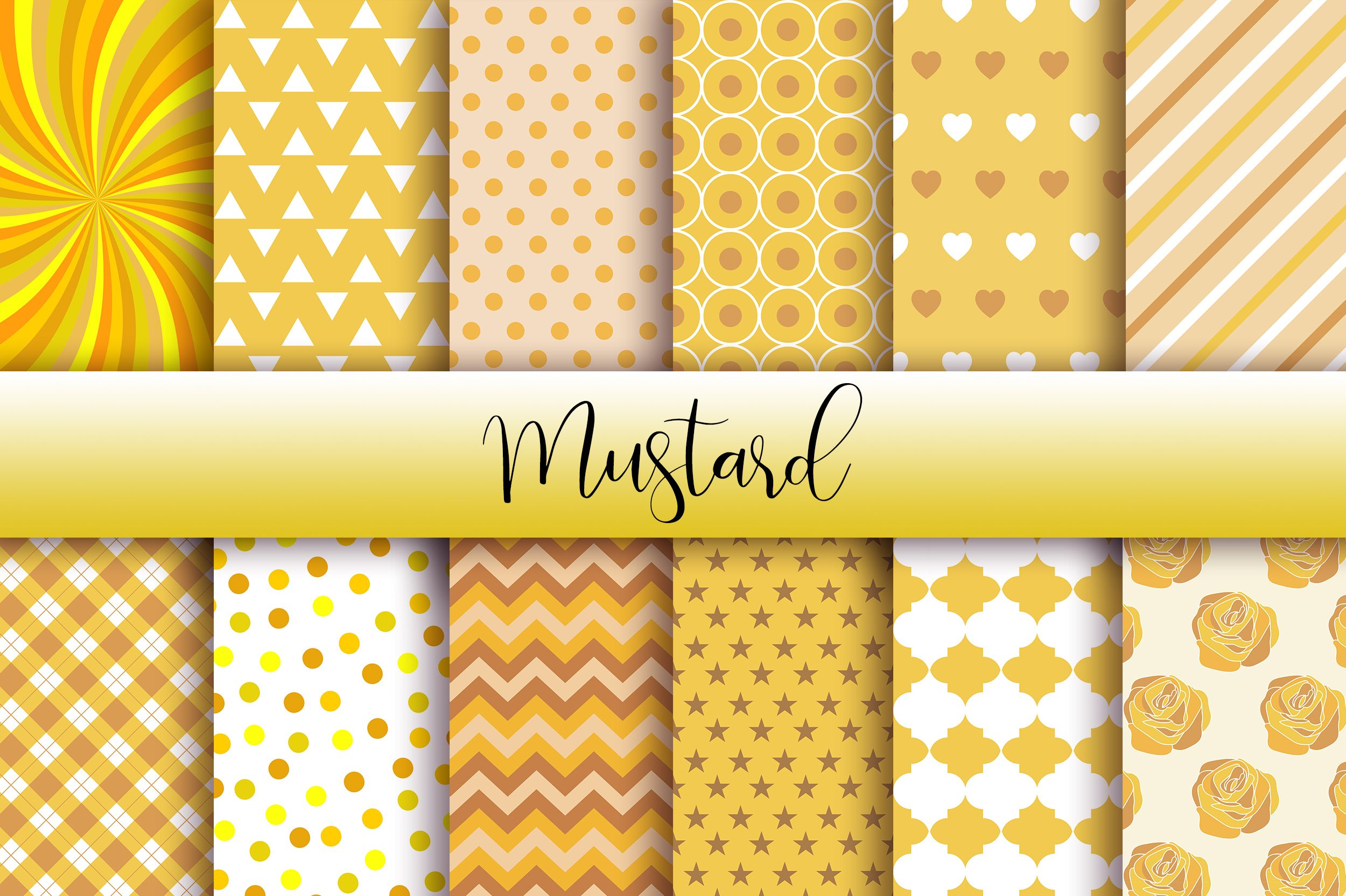 Mustard Background Digital Papers Perfect For Crafts Projects Graphic Design Cards Social Media Banners And More I In 2020 Digital Paper Social Media Banner Paper
