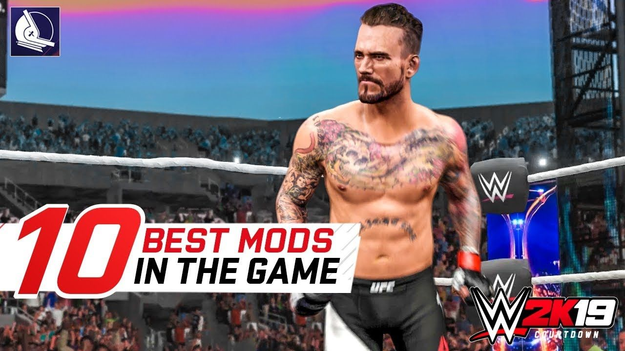10 Amazing Mods for WWE 2K18 on PC! II | my GROWN and damn