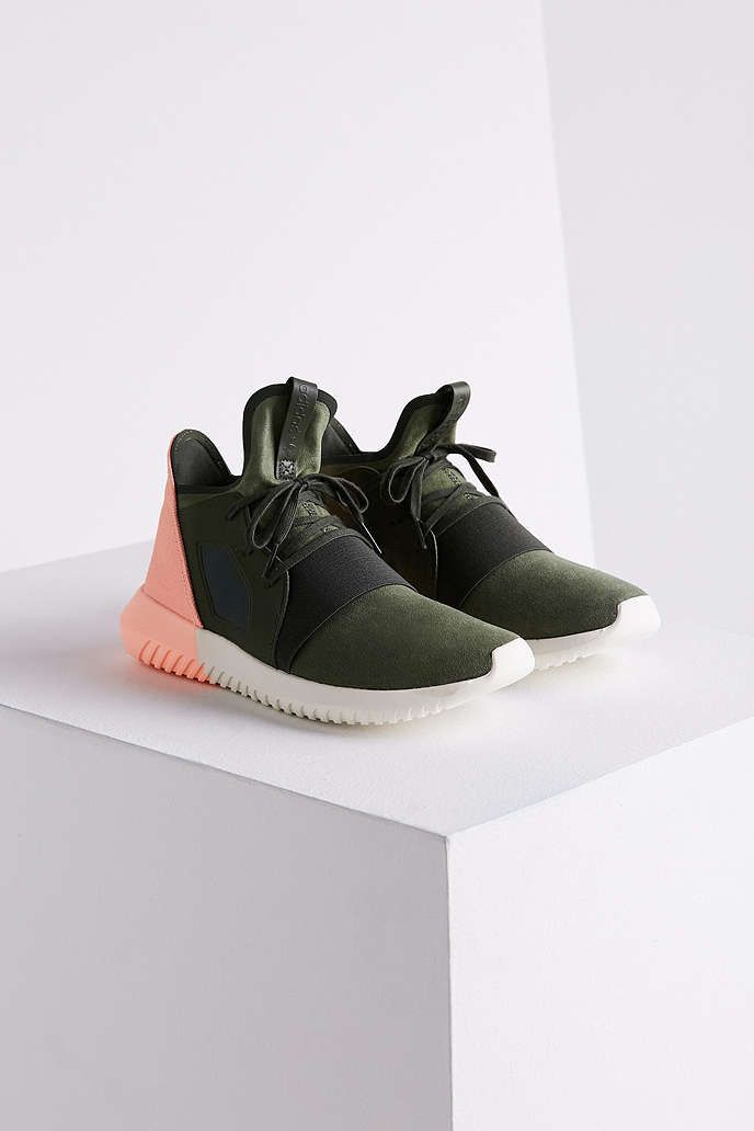 finest selection 02da9 2c3b6 adidas Colorblock Tubular Defiant Sneaker - Urban Outfitters