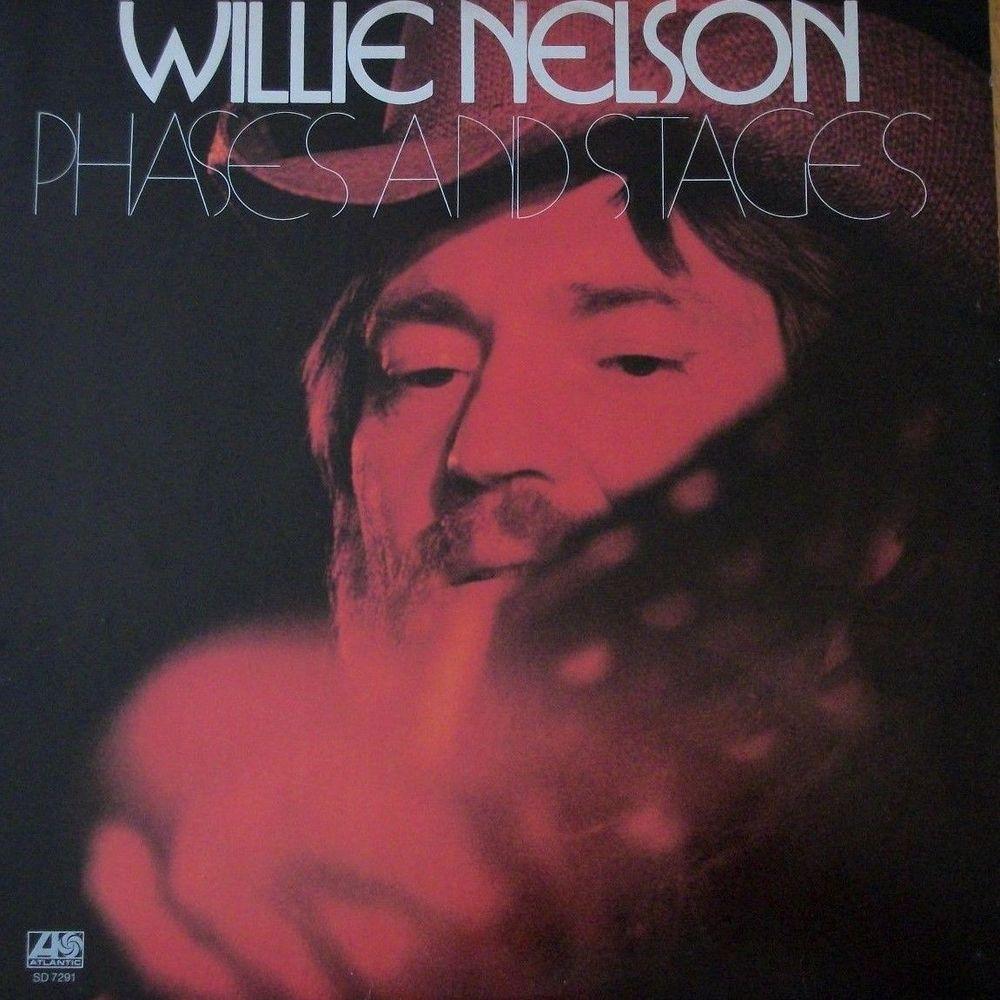 Willie Nelson Phases And Stages 12 Vinyl Lp Record Album Atlantic 7291 Nm Willie Nelson Lp Vinyl Concept Album