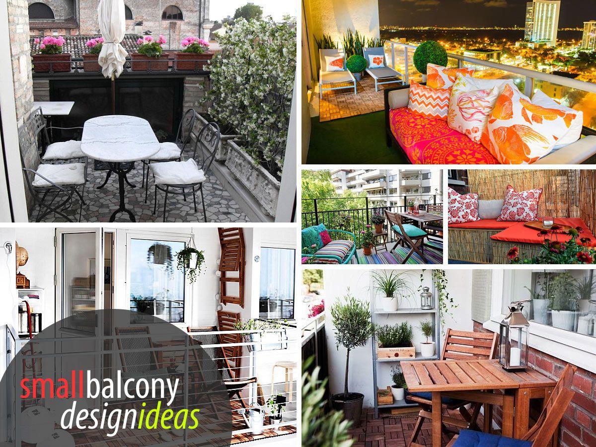 Small Balcony Design Ideas, Photos and Inspiration #smallbalconyfurniture