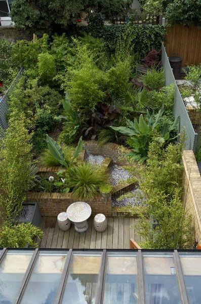 Urban jungle, Bow, London. Garden Design by Amanda Patton. | Patio ...
