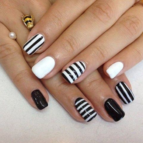 Elegant Creative Nail Designs For Short Nails 2015