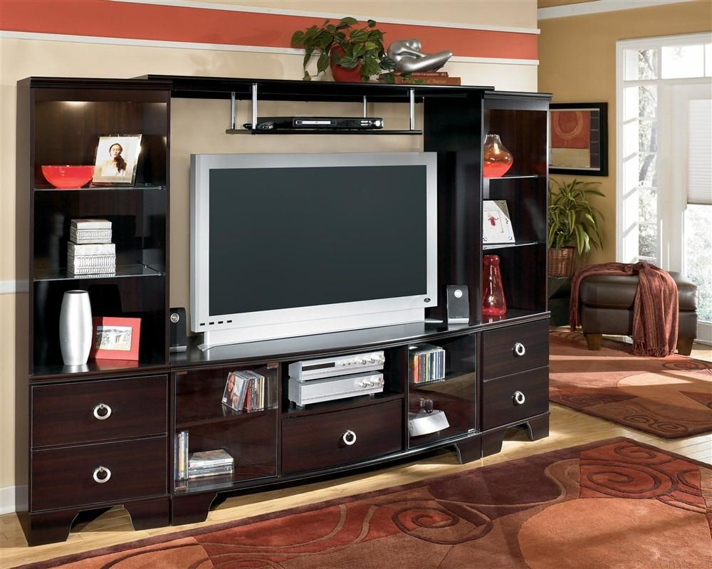 INACTIVATED-BUG157365_60 in. TV Entertainment Unit w Bridge ... on ashley furniture vivanne, ashley furniture clearance center, ashley furniture porter, ashley signature entertainment center, 4 piece entertainment center,