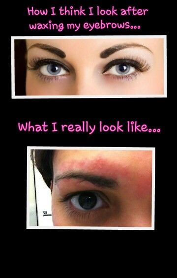 How To Get Rid Of Redness From Eyebrow Waxing