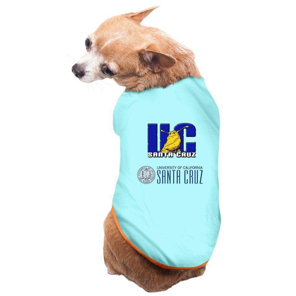Pets Uc Santa Cruz Banana Slugs Ucsc Teams Logo T Shirt Gray