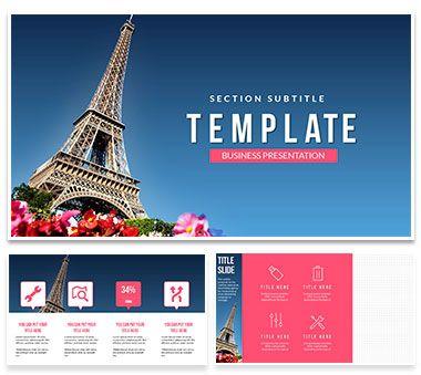 Paris Review Powerpoint Templates Powerpoint Templates Pinterest