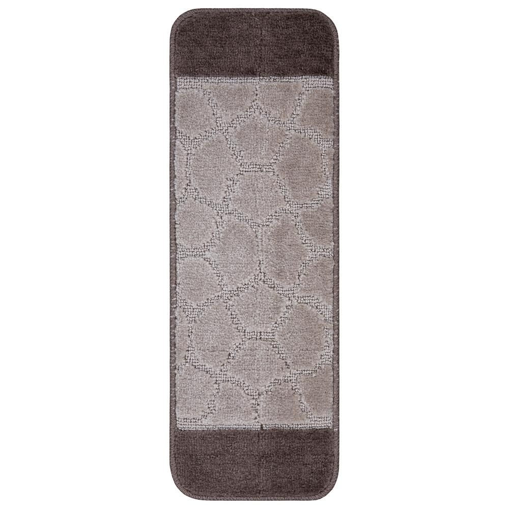 Best Ottomanson Softy Collection Brown Bordered Design 9 In X 400 x 300