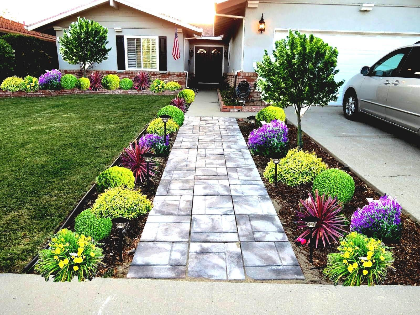 Small Front Garden Ideas To Beautify Your Home Landscape Ideas Front Yard Curb Appeal Front Yard Landscaping Simple Yard Landscaping Simple