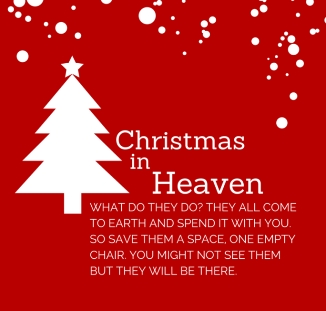 My First Christmas In Heaven Poem Free Download With Lyrics Christmas In Heaven Christmas Thoughts Quotes Christmas Poems