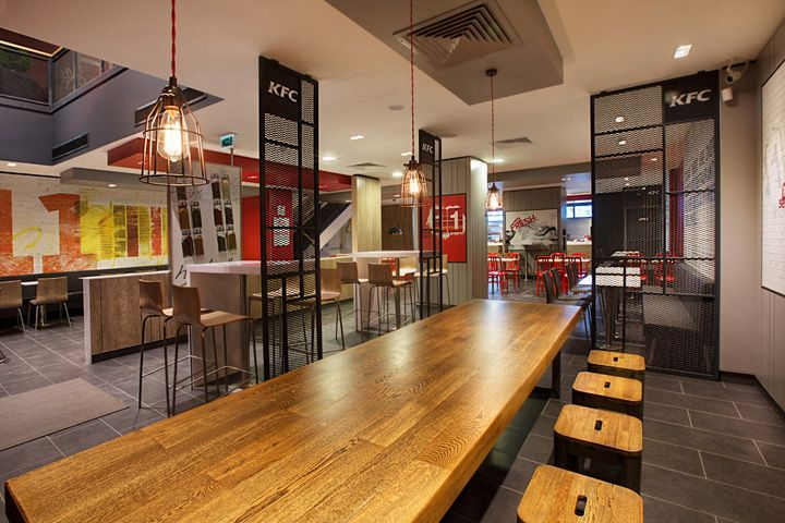 Kfc restaurant by cbte architecture turkey retail
