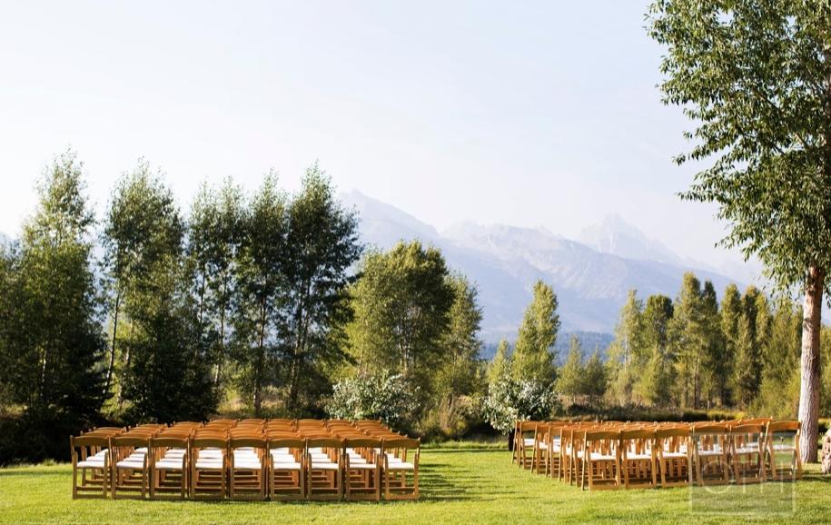Jackson Hole Wedding, Matthew Robbins Design