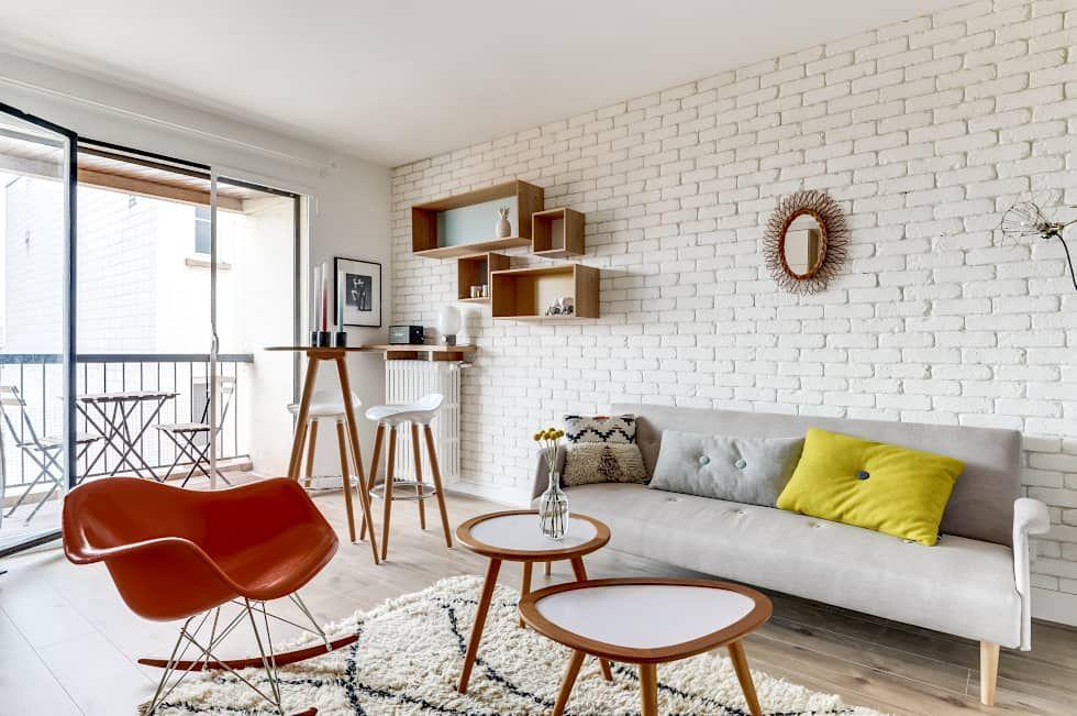 Photos de salon de style de style moderne : projet voltaire ...
