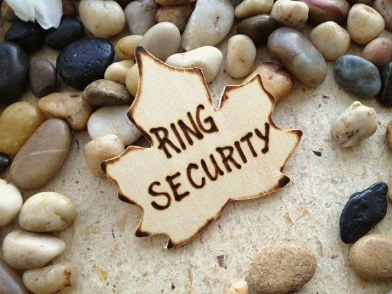 Ring Bearer Badge Canadian Maple Leaf Lapel Pin for your Ring Security Perfect Wedding Decoration for Canada Vermont Fall Weddings on Etsy, $12.60 CAD