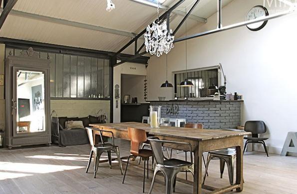 deco 2016 interieur loft recherche google loft dreams pinterest deco industrielle deco. Black Bedroom Furniture Sets. Home Design Ideas